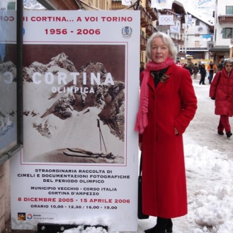 Tenley in Cortina, Italy 2006