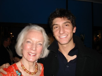 Tenley with Evan Lysacek, US Gold Medalist 2010